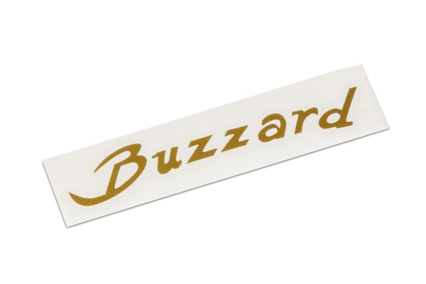Warwick Parts - Warwick Buzzard Headstock Decal - Gold