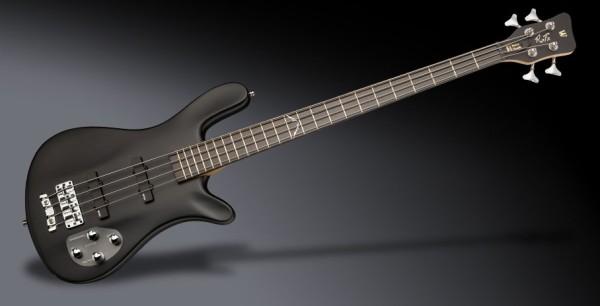 Warwick RockBass Artist Line Robert Trujillo, 4-String - Solid Black Satin