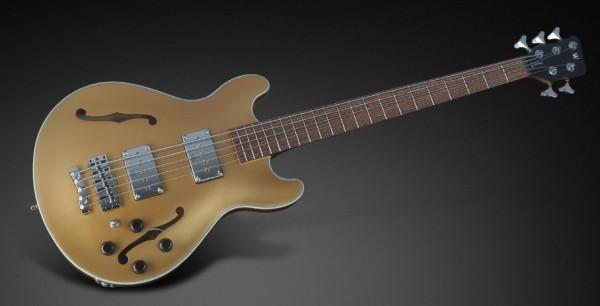Warwick RockBass Star Bass, 5-String - Metallic Gold High Polish
