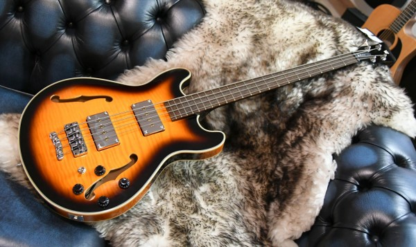 Warwick RockBass Star Bass, 4-String - Vintage Sunburst Transparent High Polish
