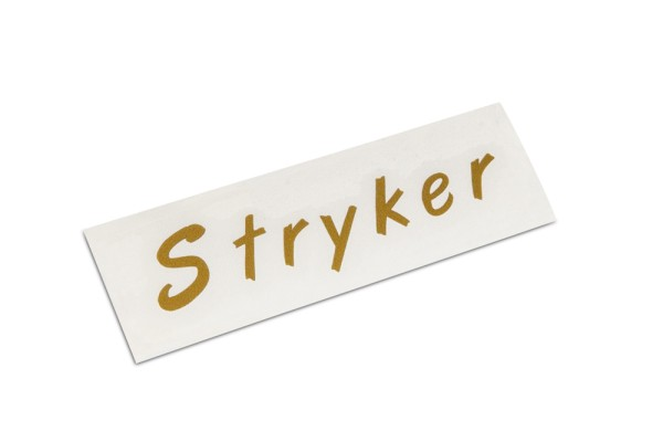 Warwick Parts - Warwick Stryker Headstock Decal - Gold