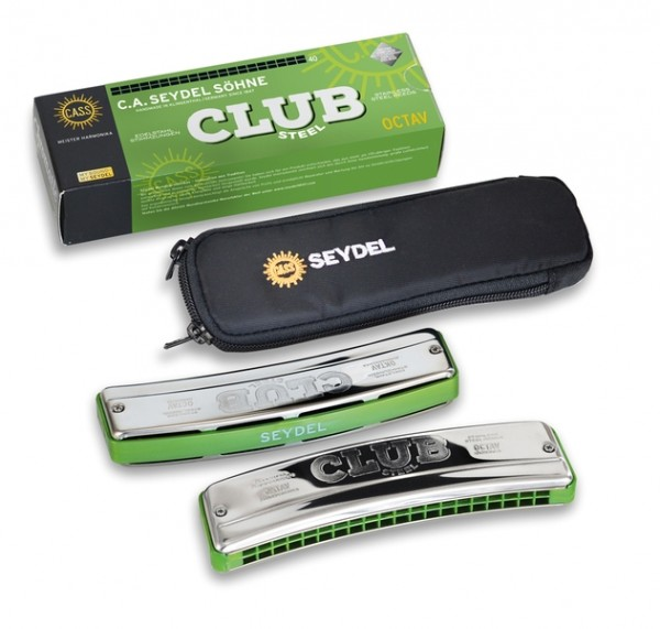 SEYDEL 31400 Club Steel Mundharmonika