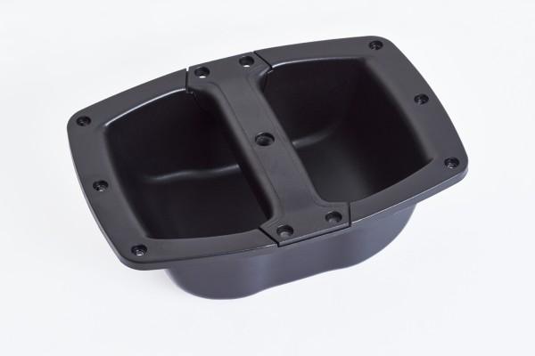 Handle - Metall+Plastic holder