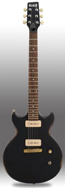 SLICK SL60 BK E-Gitarre Black