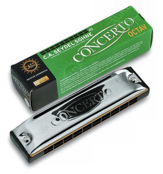 SEYDEL 30401 Concerto 40 Mundharmonika