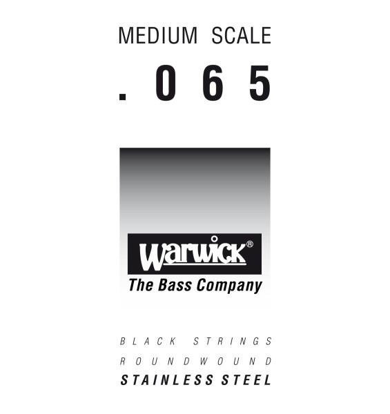 Warwick Black Label - Bass Single String, .065, Medium Scale