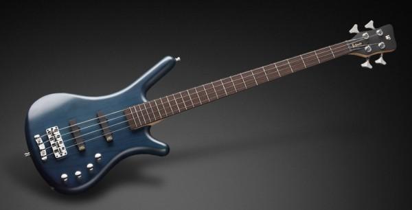 Warwick RockBass Corvette Basic, 4-String - Ocean Blue Transparent Satin