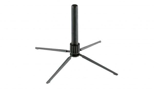 K&M 15232-000-55 Flötenständer - schwarz