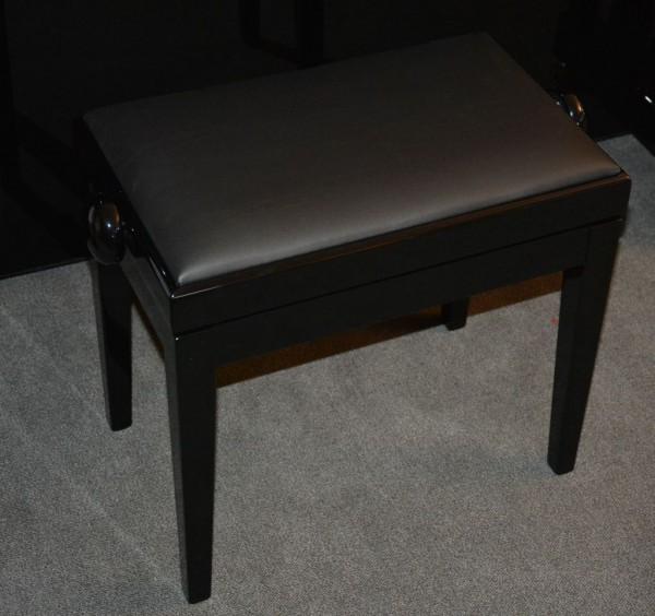 HOMBERG Mod. 305 Klavierbank schwarz Kunstleder