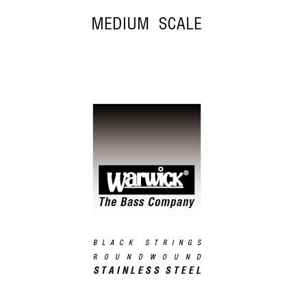 Warwick Black Label - Bass Single String, .095, Medium Scale