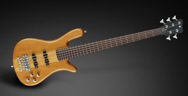 Warwick RockBass Streamer NT I, 5-String - Honey Violin Transparent High Polish