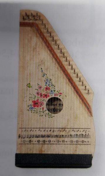 Hopf Zither, keine Akkorde, 25 Melodiesaiten, Farbmotiv