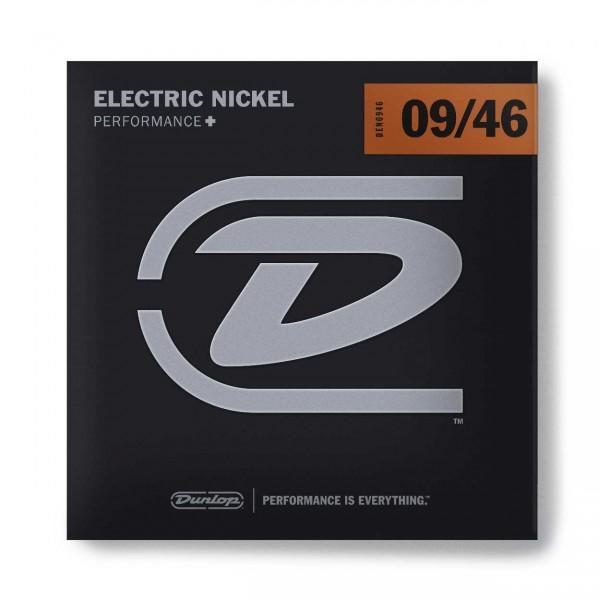 Dunlop Electric Nickel - DEN0946 - Electric Guitar String Set, LTHB, .009-.046