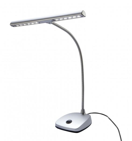 K&M 12297 LED Pianoleuchte Silber