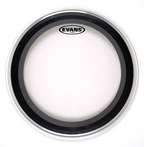 "EVANS BD22EMAD2 22"" EMAD2 (Clear) Bassdrum Batter"