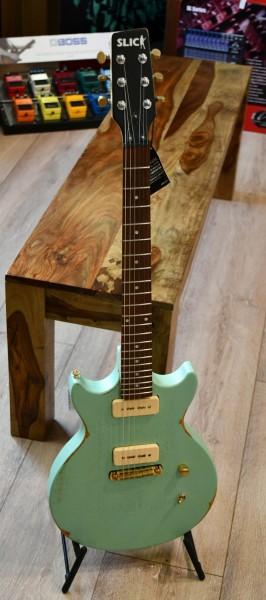 SLICK SL 60 SG E-Gitarre Surf Green