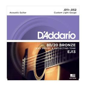 D'ADDARIO EJ13 011-052 Saiten-Satz für Westerngitarre