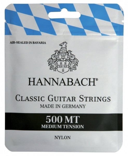 Hannabach Klassikgitarre-Saiten Serie 500 Medium Tension