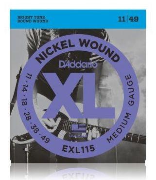 D'ADDARIO EXL115 E-Gitarren Saiten