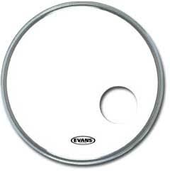 "EVANS BD22RSW EQ3 Smooth White 22"", Bass Drum Reso"