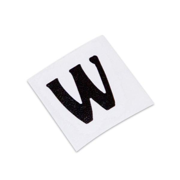 Warwick Parts - Warwick Headstock W-Logo Decal - Black