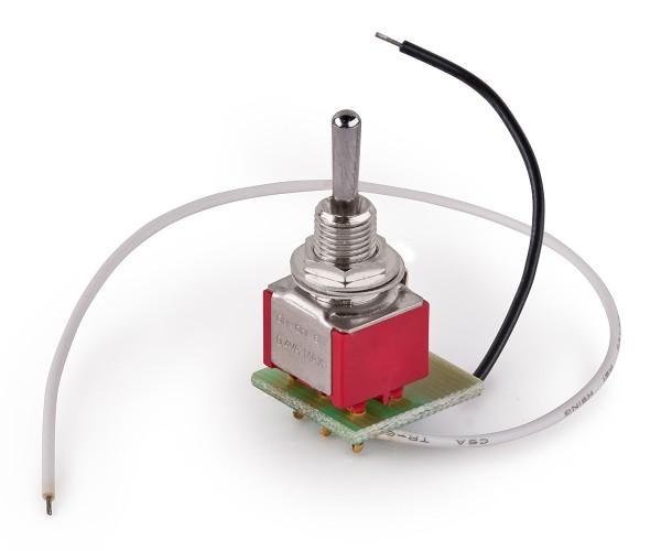 MEC Mini Toggle Switch Assembly for Warwick Streamer Jazzman - Chrome