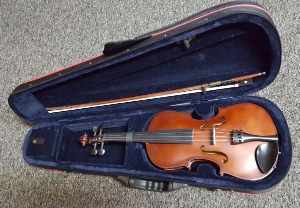 HIDERSINE Uno 3176C 1/2 Violin-Set