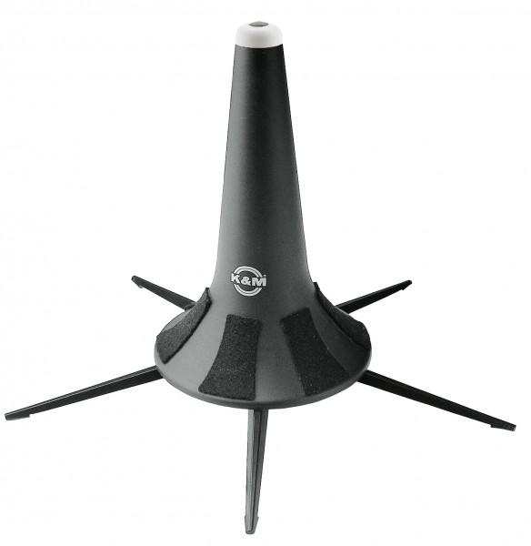 K&M 15240 Flügelhornständer - schwarz