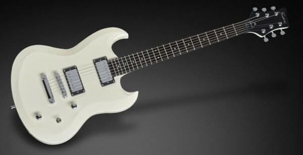FRAMUS FAL1696 28PH MAH CR - Artist Line Phil XG E-Gitarre Solid Creme White