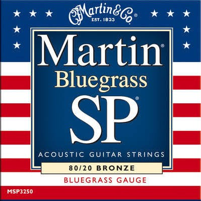 MARTIN MSP3250 Westerngitarren Saiten