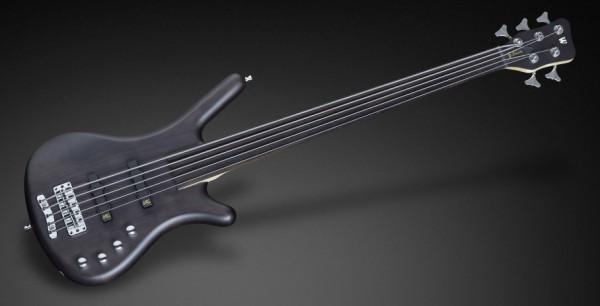 Warwick RockBass Corvette Basic, 5-String, Fretless - Nirvana Black Transparen Satin