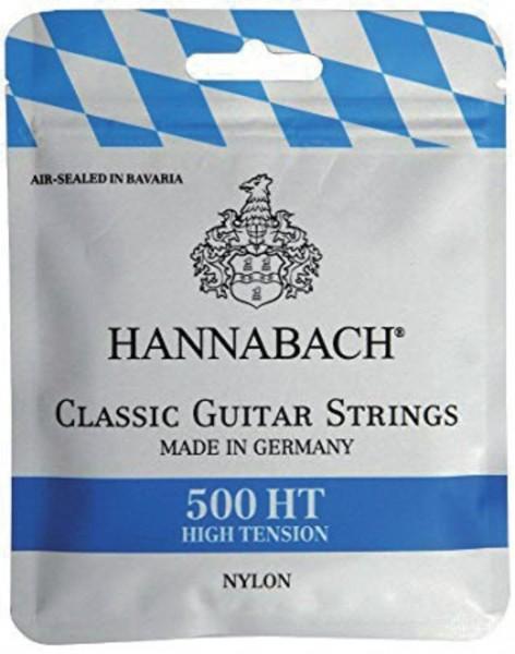 Hannabach Klassikgitarre-Saiten Serie 500 High Tension