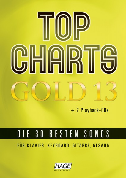 Top Charts Gold 13 Songbook + 2 CDs (EH 3975)