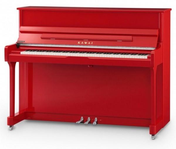 KAWAI K-200 Klavier MEP Silver, Ferrari Red Polish