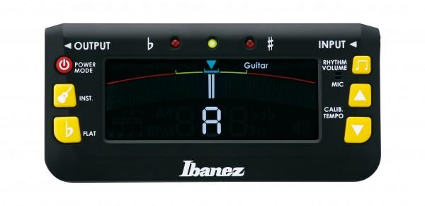 IBANEZ MU2 Chromatisches/automatisches Stimmgerät mit eingebautem Metronom