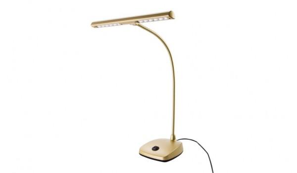 K&M 12297 LED Pianoleuchte Gold