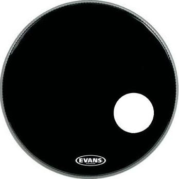 "EVANS BD22RB EQ3 Black 22"", Bass Drum Reso"
