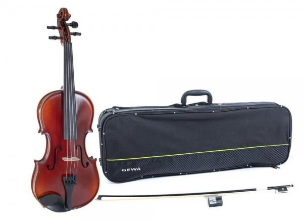 GEWA IDEALE-VL2 Violine 4/4 Set mit Violinkoffer u. Carbonbogen