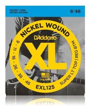 D'ADDARIO EXL125 E-Gitarren Saiten 009-046