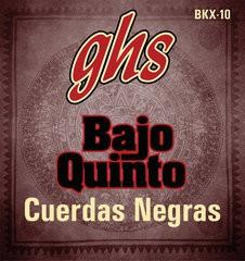 GHS Bajo Quinto, Acoustic Guitar String Set, Coated, Loop End 10 String, .024-.078