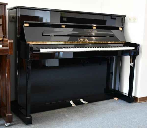 SAUTER Carus 112 Klavier schwarz poliert