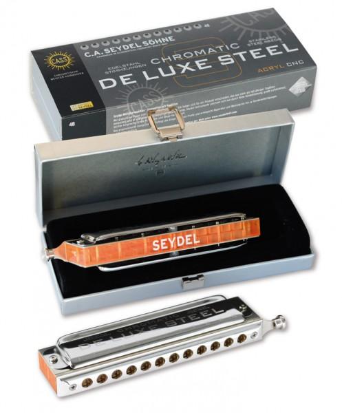 SEYDEL 54480 Mundharmonika De Luxe Steel