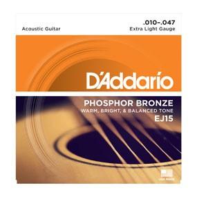 D'ADDARIO EJ15 010-047 Saiten-Satz für Westerngitarre