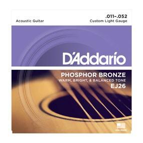 D'ADDARIO EJ26 011-052 Saiten-Satz für Westerngitarre
