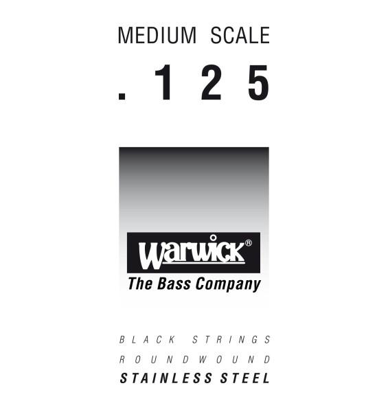 Warwick Black Label - Bass Single String, .125, Medium Scale