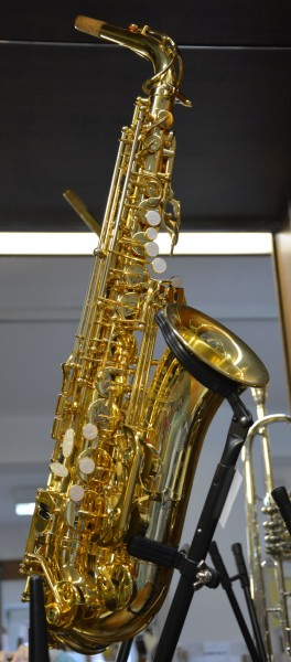 B&S Alt-Saxophon Serie 2001 Mod. 3237 Goldlack