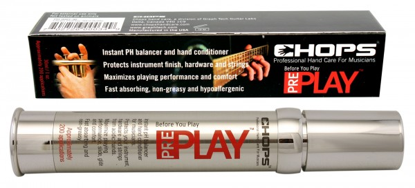 Chops PrePlay - Hand Conditioner for Musicians, 30 ml Bottle