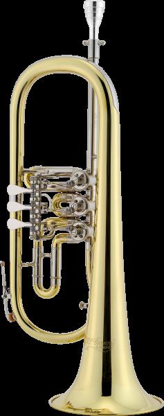 CERVENY CVFH 501Bb Flügelhorn, Messing, lackiert