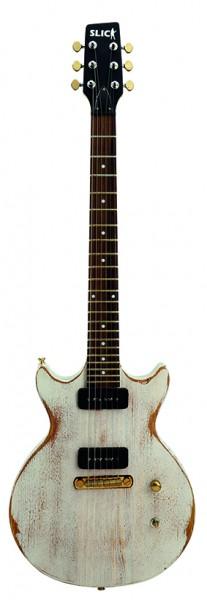 SLICK SL 60 WH E-Gitarre White