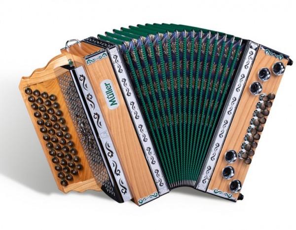 MÜLLER Steirische Harmonika Mod. Klippitz G-C-F-B